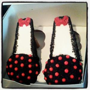 Minnie Mouse Stilettos