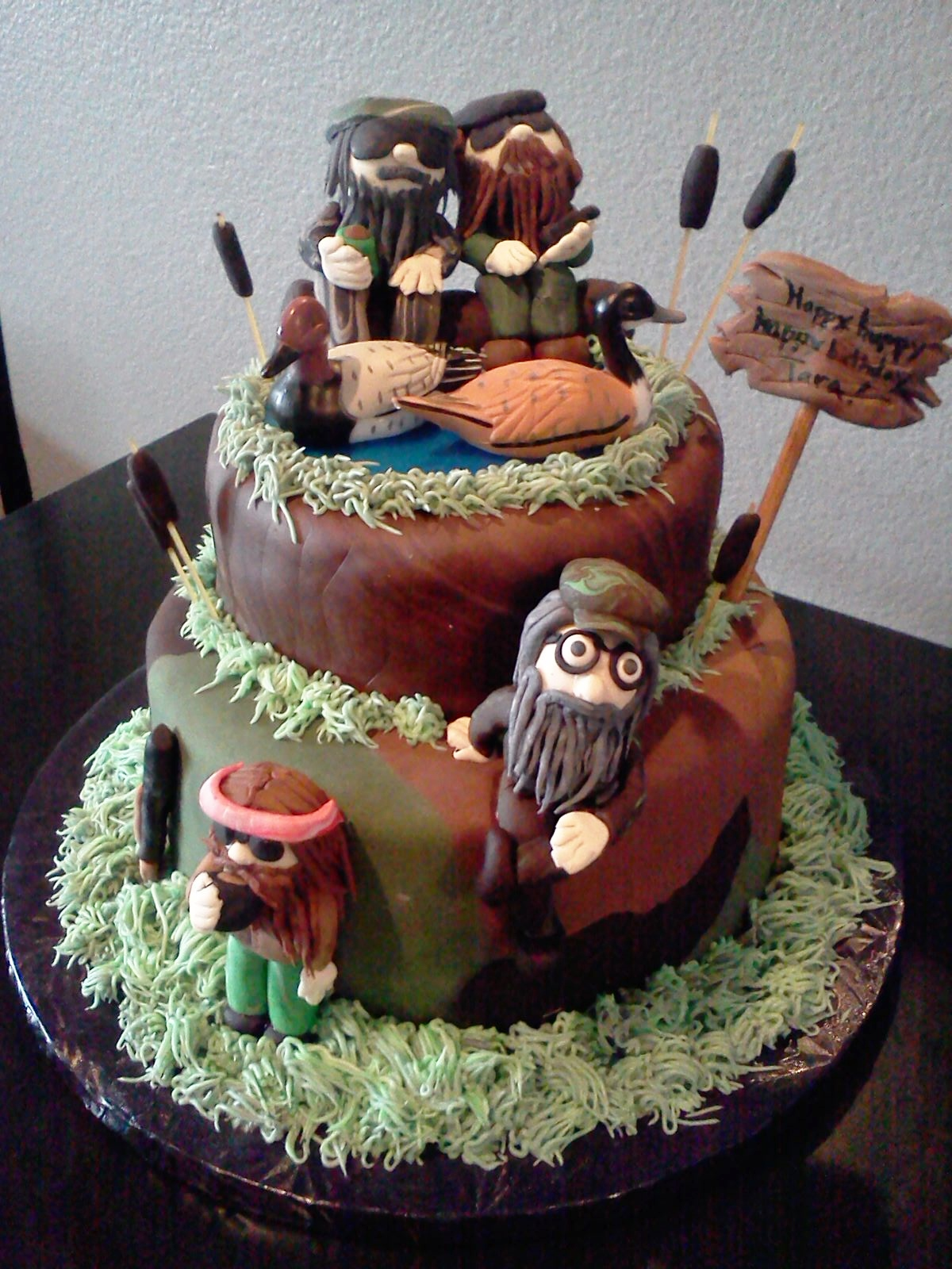 Duck Dynasty Happy Happy Happy Birthday Cake!